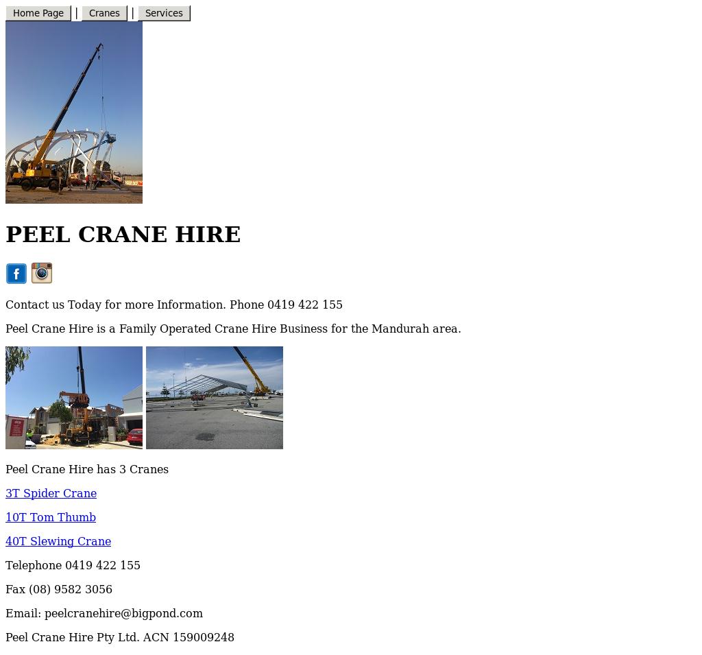 Peel Crane Hire Competitors, Revenue and Employees - Owler Company