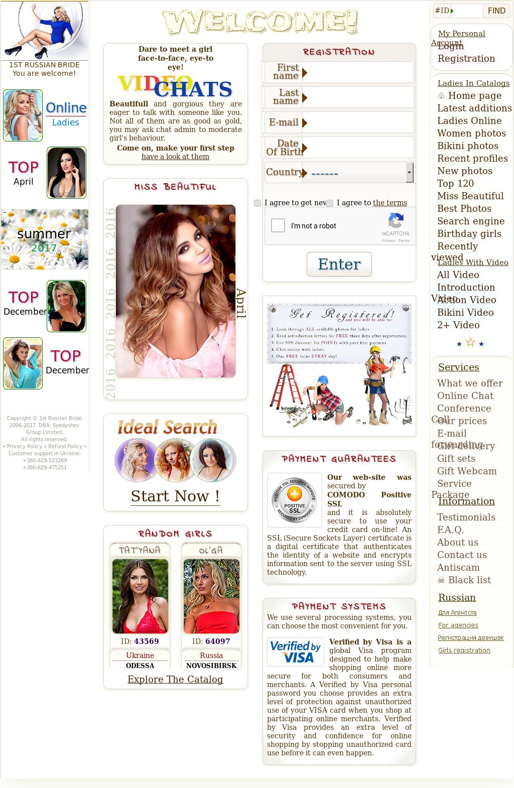 Russian bride website