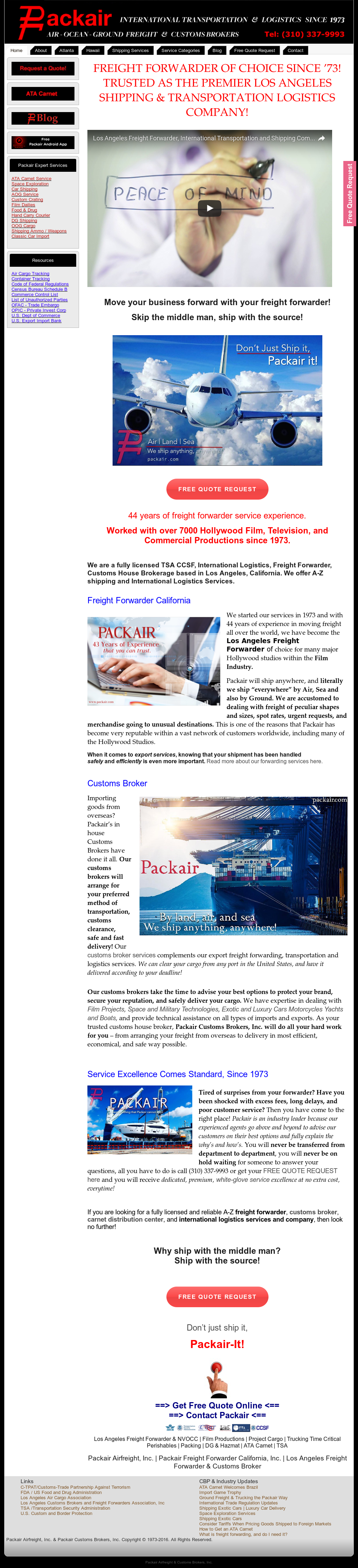 Packair Competitors, Revenue and Employees - Owler Company