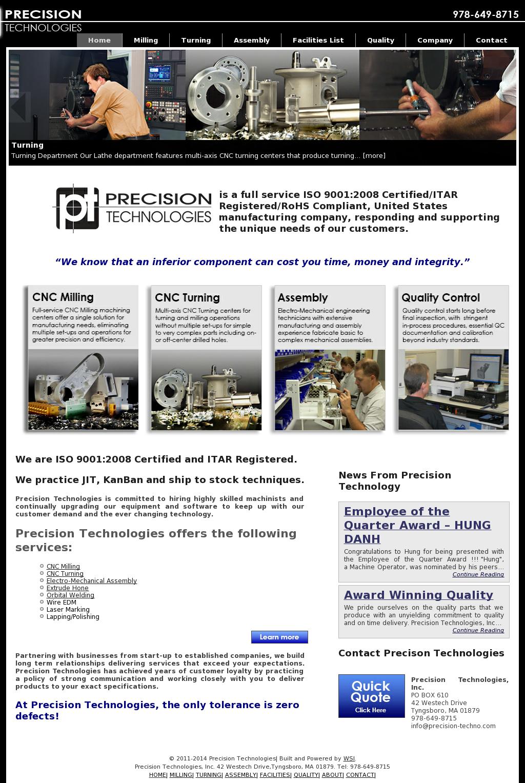 Precision Techno Competitors, Revenue and Employees - Owler Company ...
