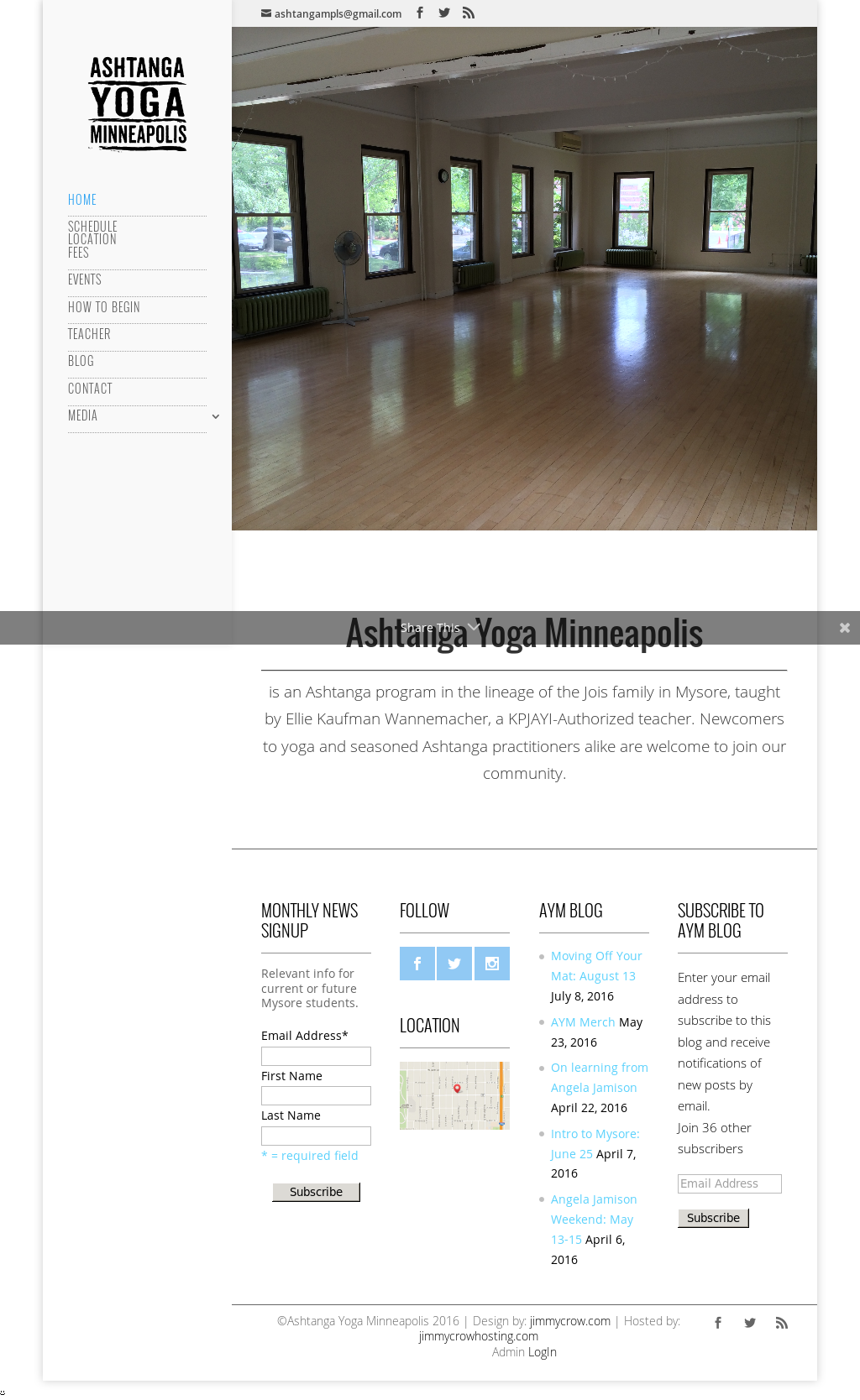 Ashtanga Yoga Minneapolis Competitors, Revenue and Employees