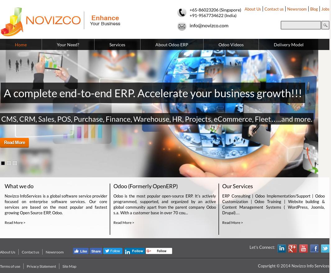 Novizco Info Services Competitors, Revenue and Employees