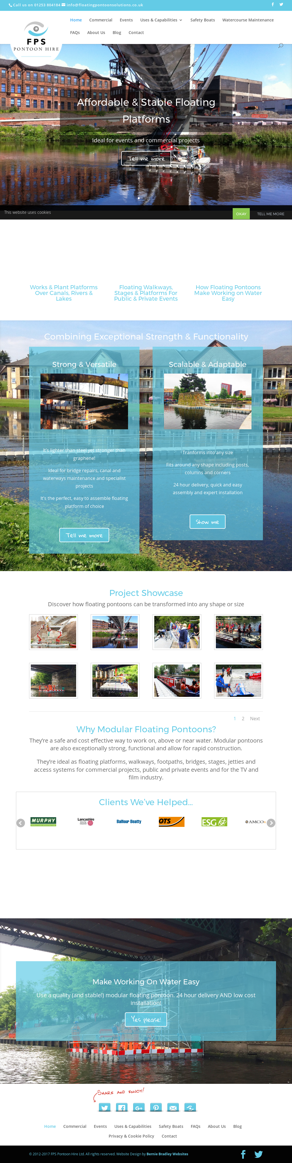Floating Pontoon Solutions Competitors, Revenue and