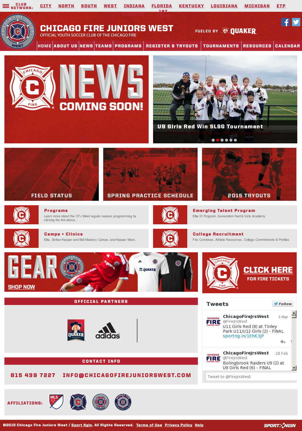 Chicago Fire Juniors West Competitors, Revenue and Employees