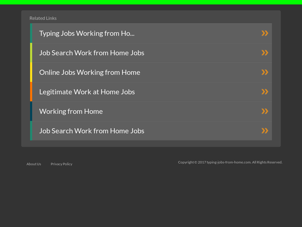 Typing Jobs From Home
