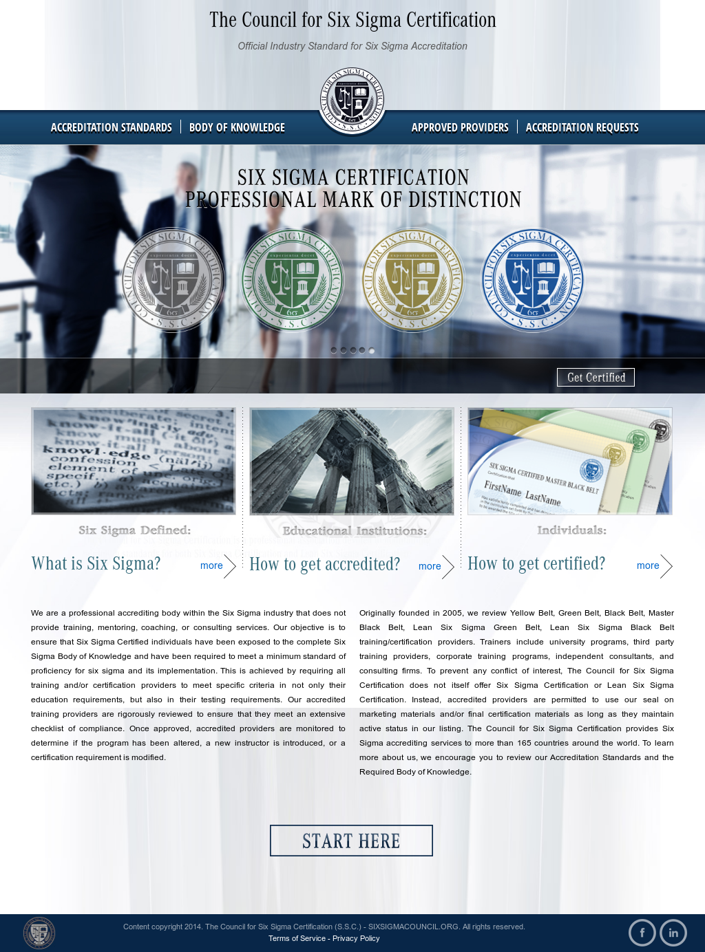 Council For Six Sigma Certification Competitors Revenue And
