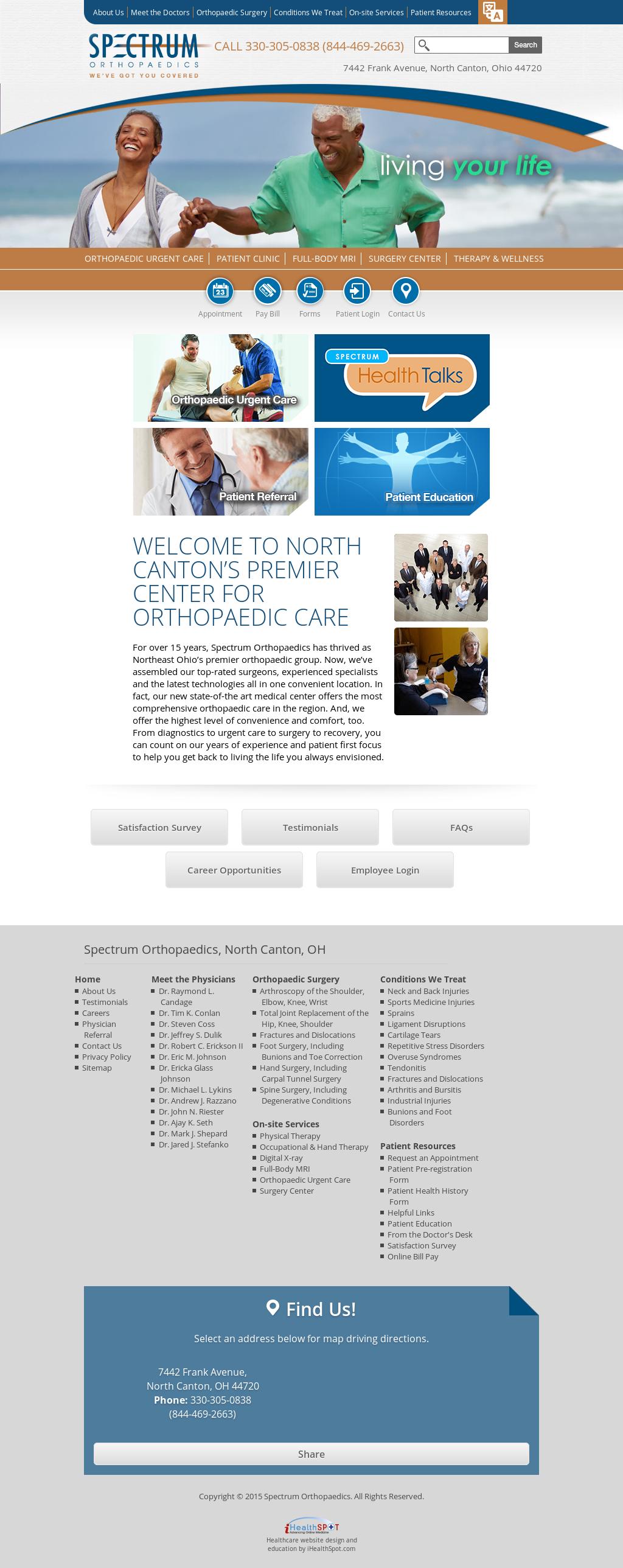 Spectrum Orthopaedics Competitors, Revenue and Employees