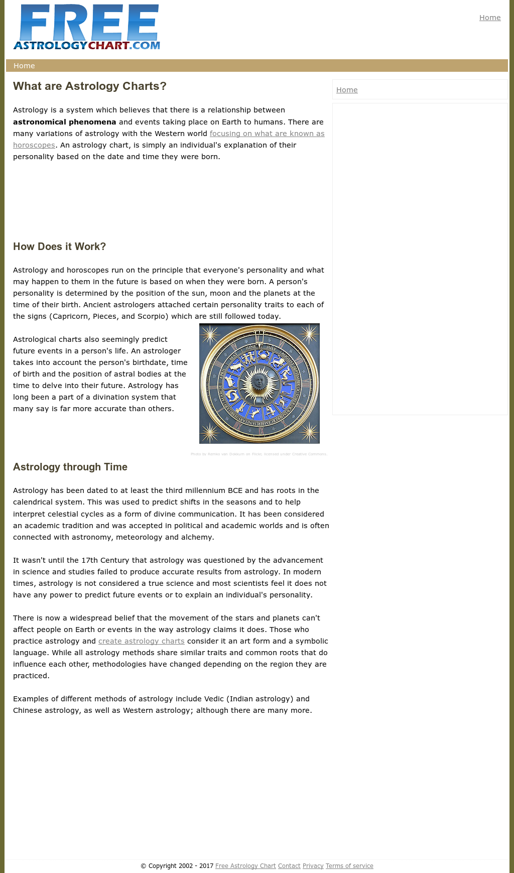 Free Astrology Chart Competitors Revenue And Employees Owler