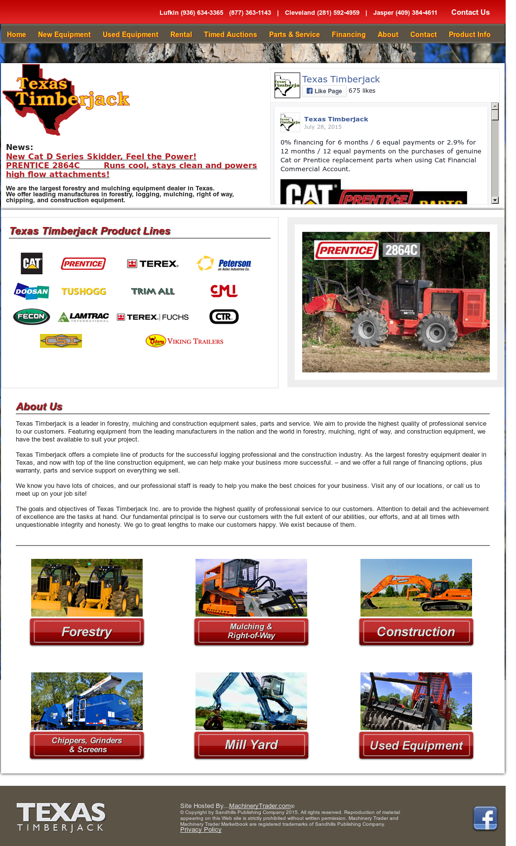 Texas Timberjack Competitors, Revenue and Employees - Owler Company