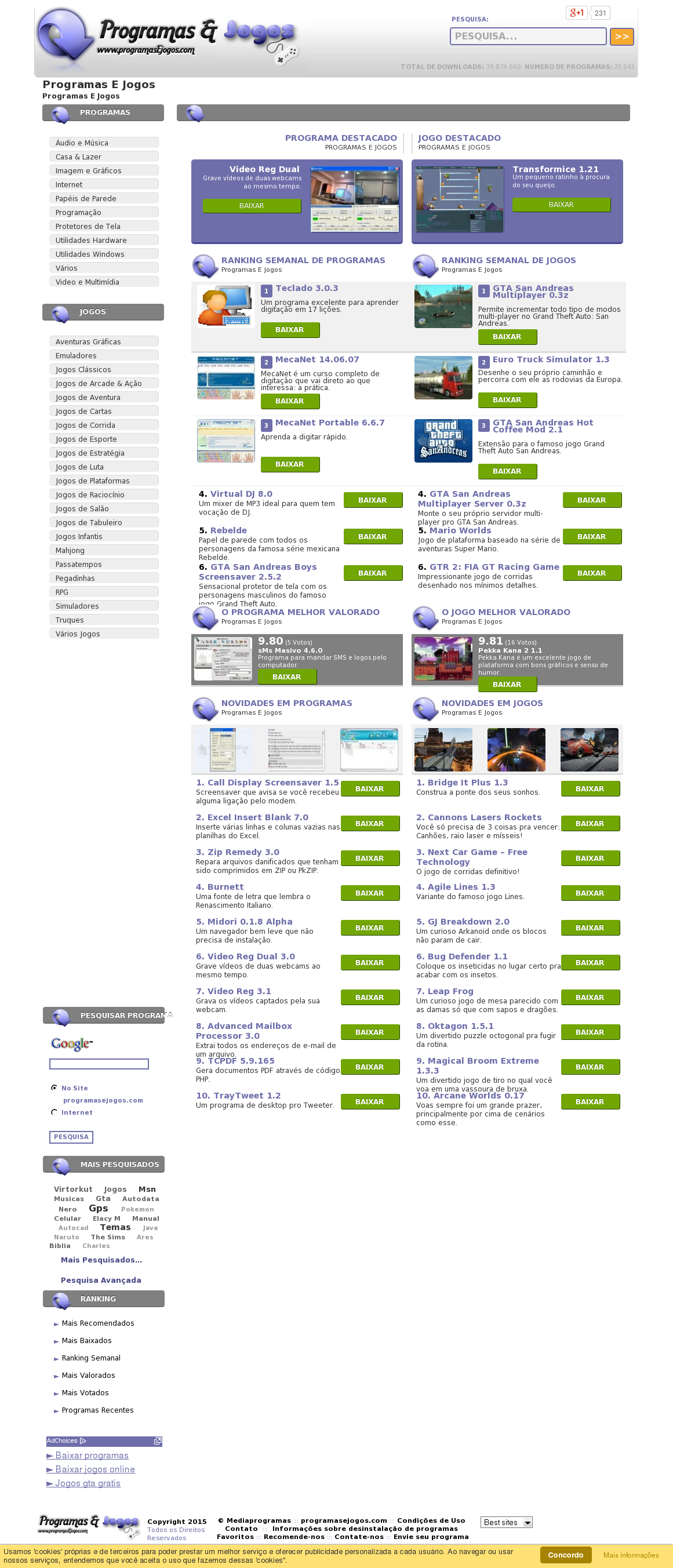 Programas E Jogos Competitors, Revenue and Employees - Owler Company