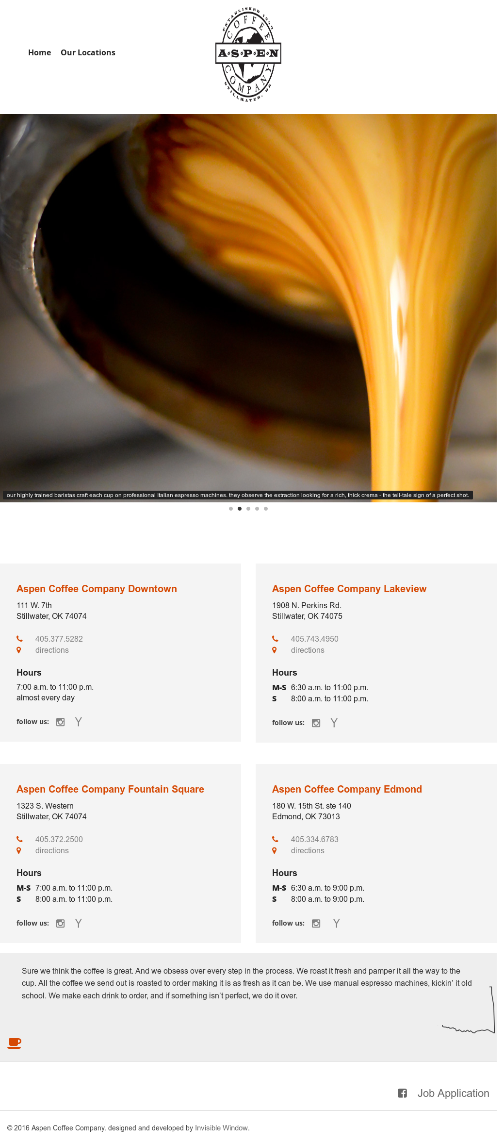 Aspen Coffee Company S Competitors Revenue Number Of Employees Funding Acquisitions News Owler Company Profile