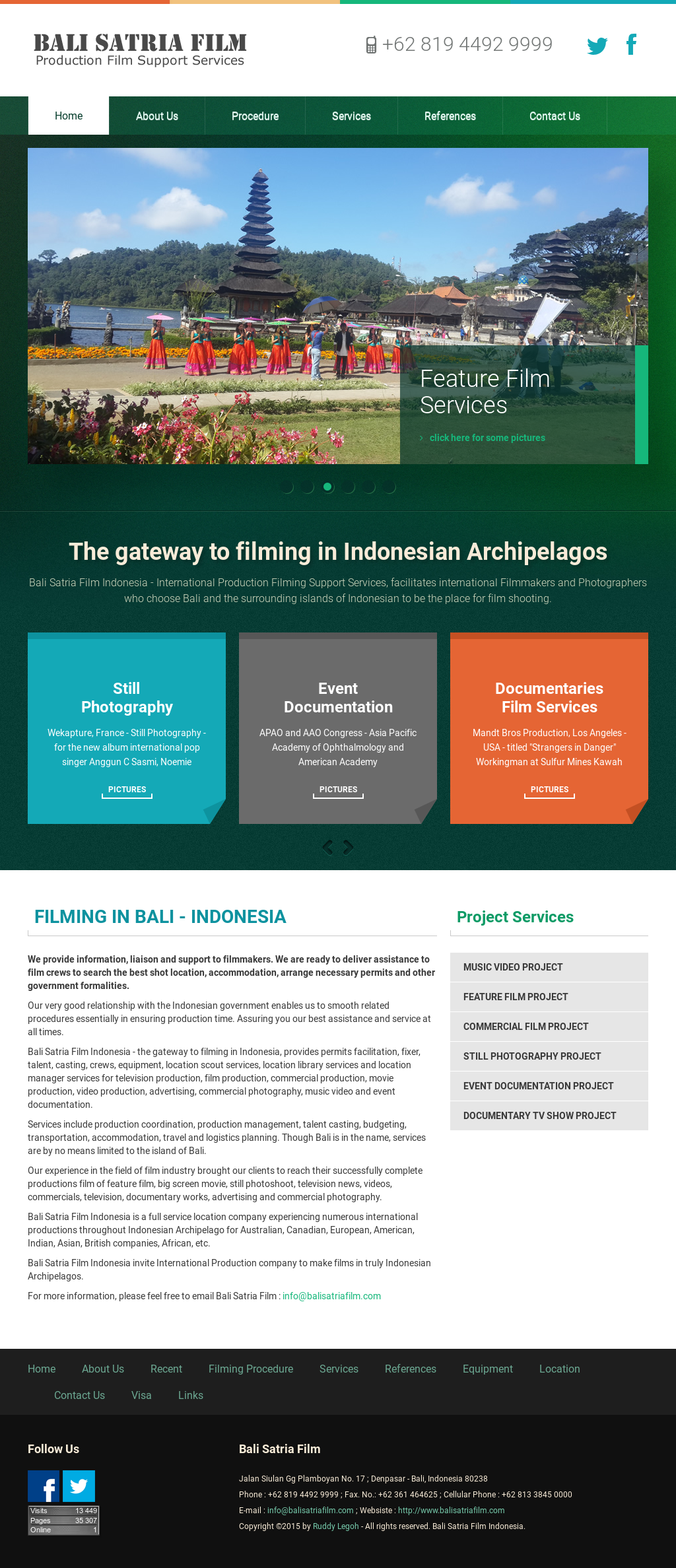 Bali Satria Film Indonesia Competitors, Revenue and Employees