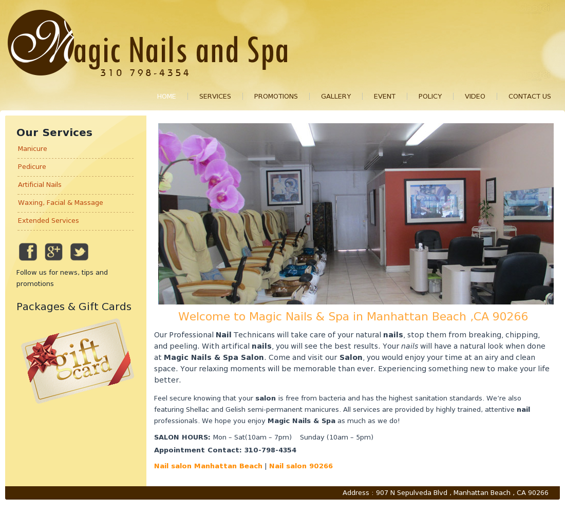 Magic Nail & Spa Competitors, Revenue and Employees - Owler Company ...
