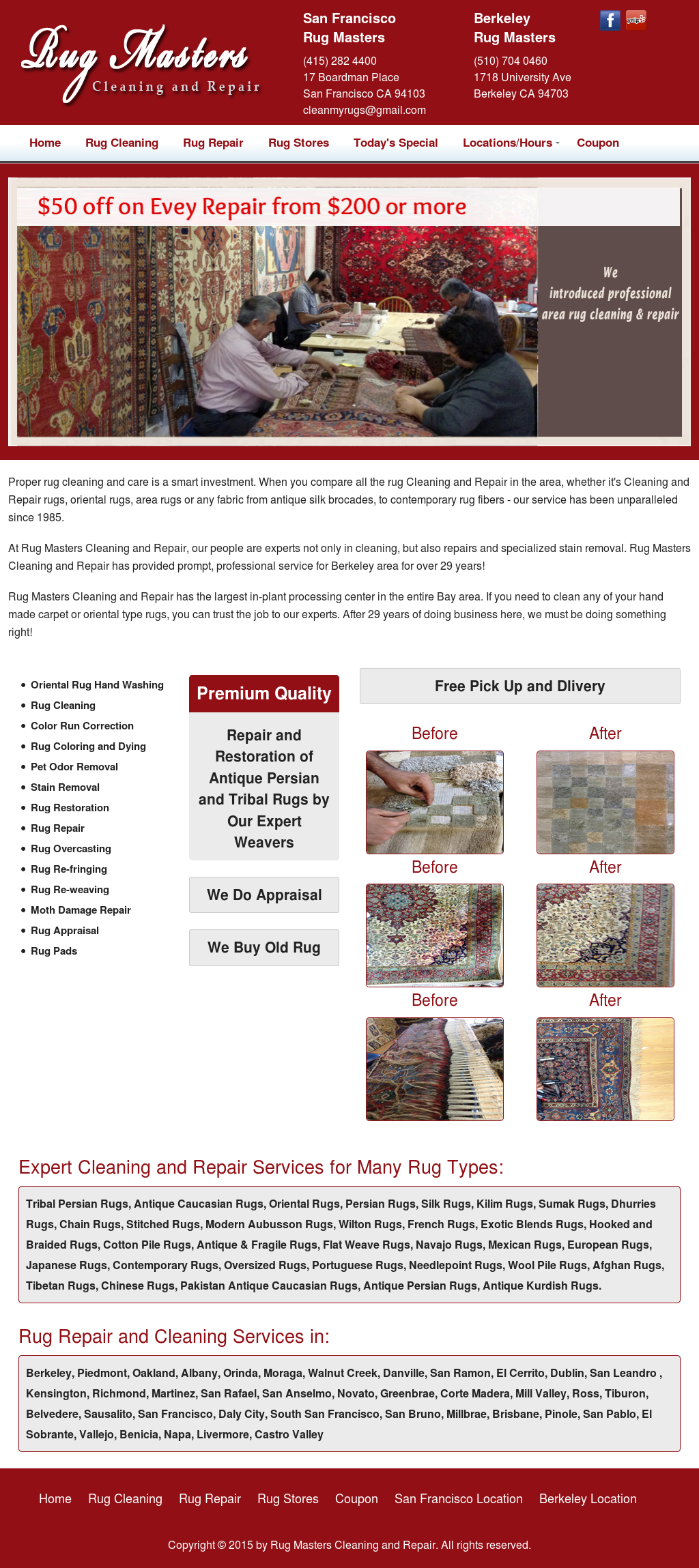 Rug Masters Cleaning & Repair