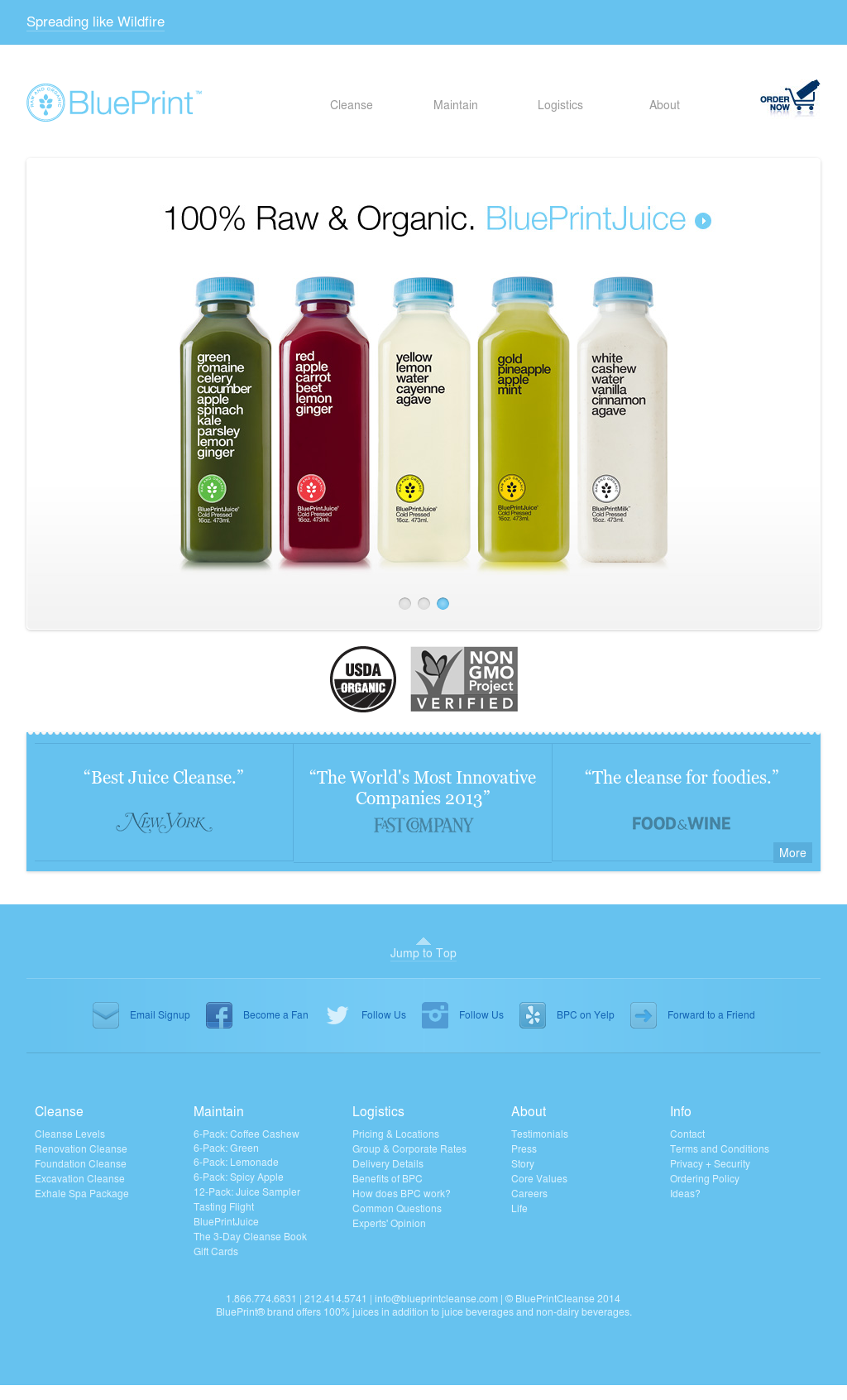 Blueprintcleanse competitors revenue and employees owler company blueprintcleanse website history malvernweather Choice Image