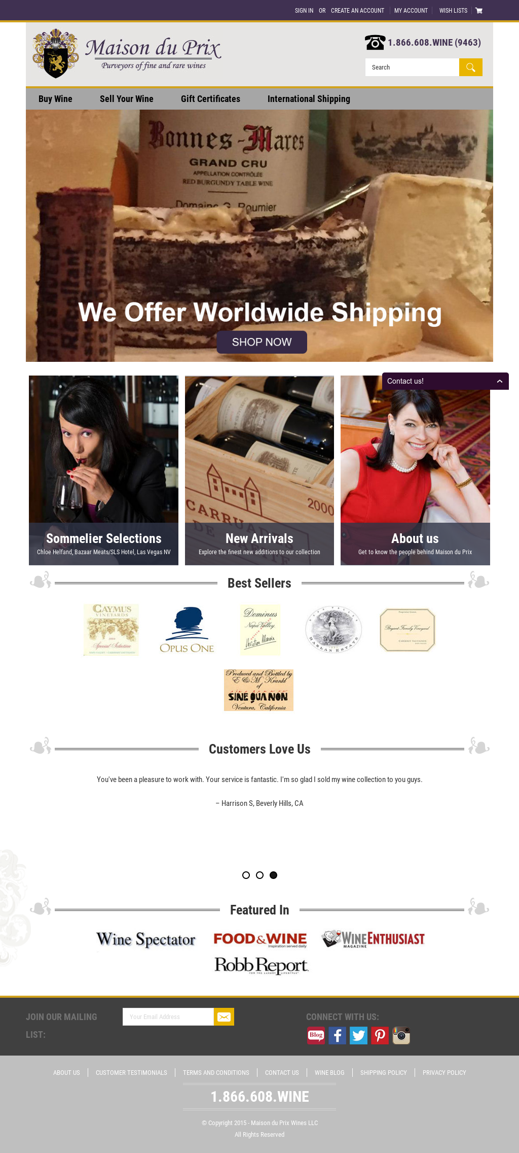 Maison du prix wines company profile revenue employees for Acquisition maison