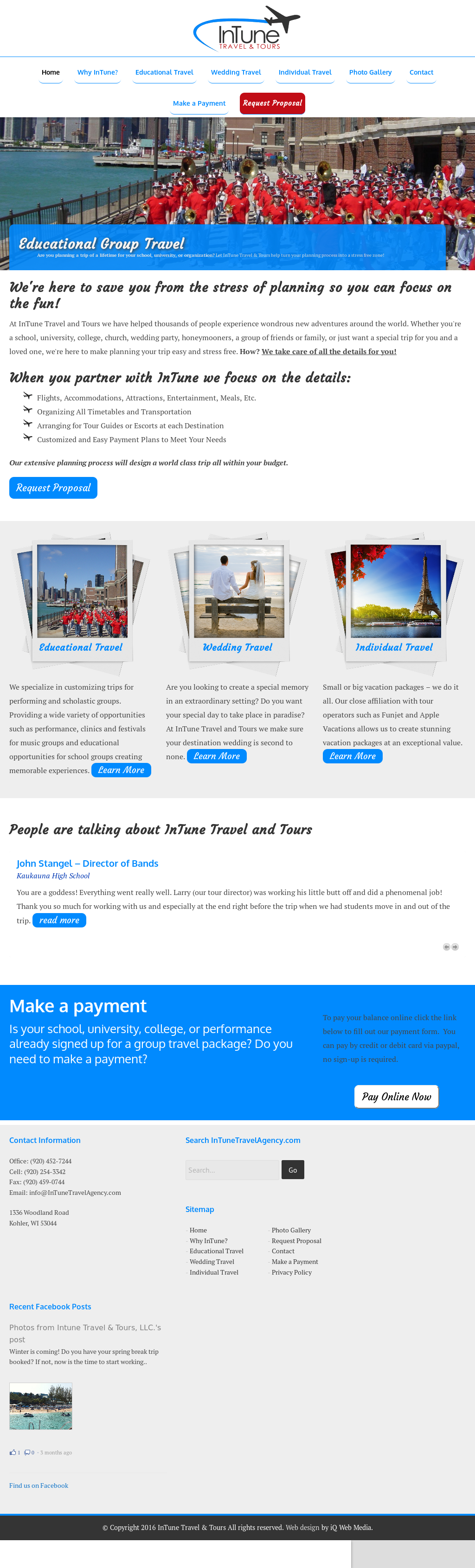 Intune Travel & Tours Competitors, Revenue and Employees