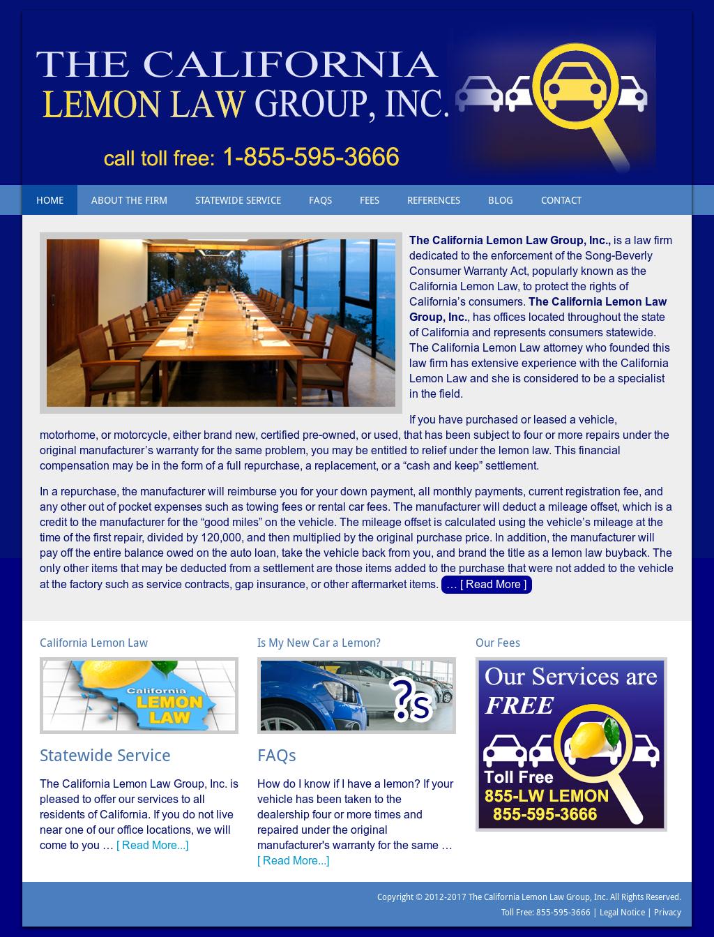 Lemon Law California >> The California Lemon Law Group Competitors Revenue And