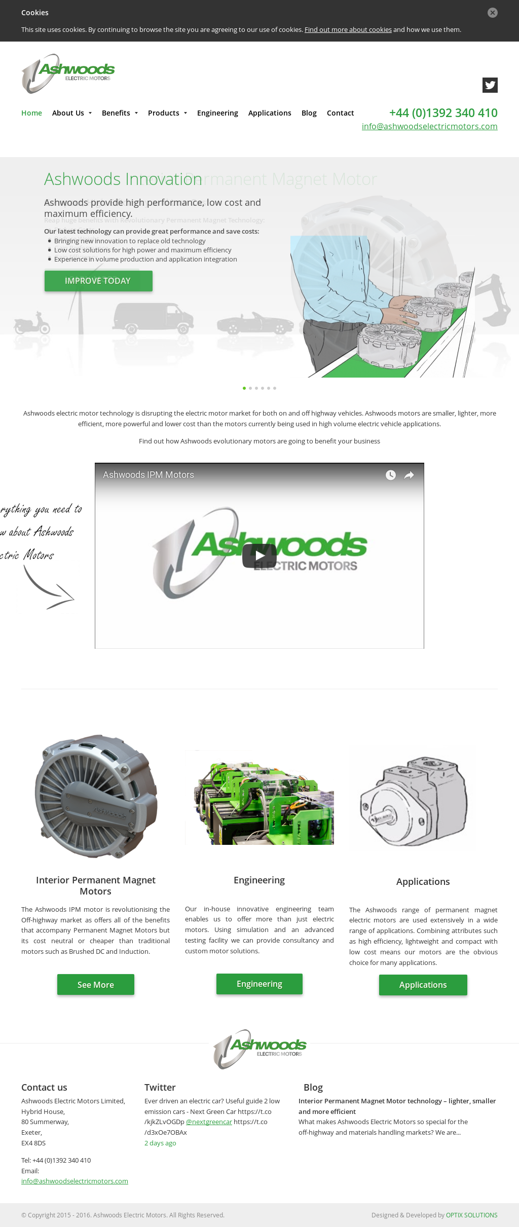 Ashwoods electric motors company profile revenue number for History of the electric motor