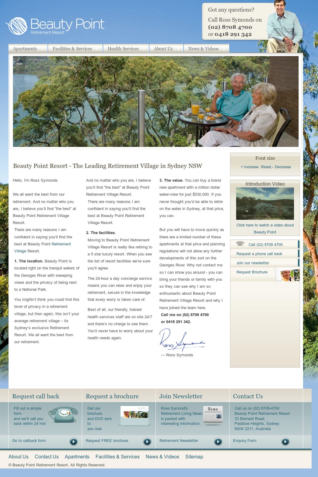 Beauty Point Retirement Resort Competitors, Revenue and