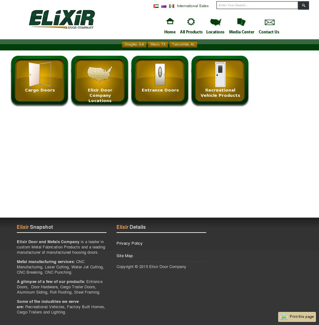 Elixir Door Company Competitors, Revenue and Employees