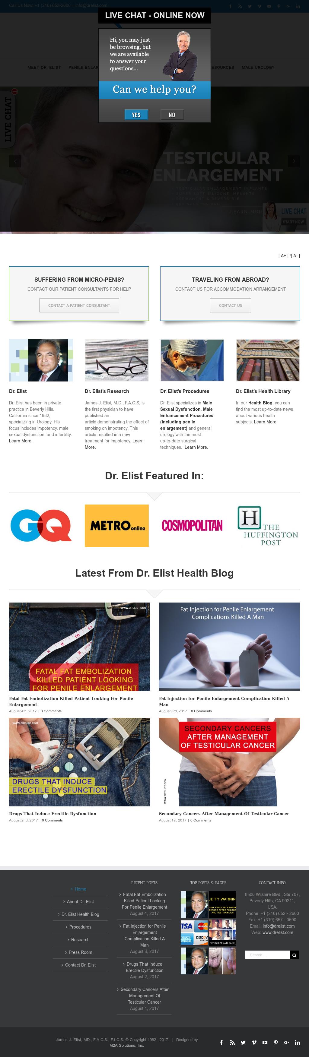 Owler Reports - Dr James Elist Blog Effective Penis