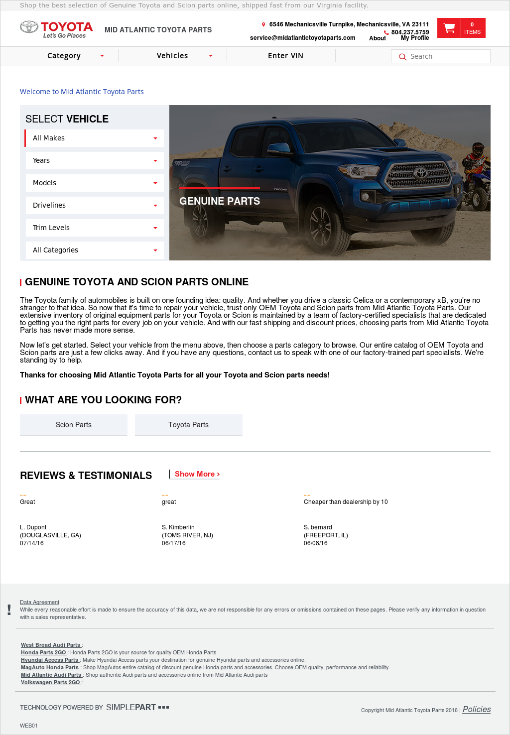 Mid Atlantic Toyota Parts Competitors, Revenue And Employees   Owler  Company Profile