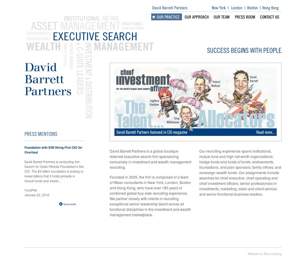 David Barrett Partners Competitors, Revenue and Employees - Owler
