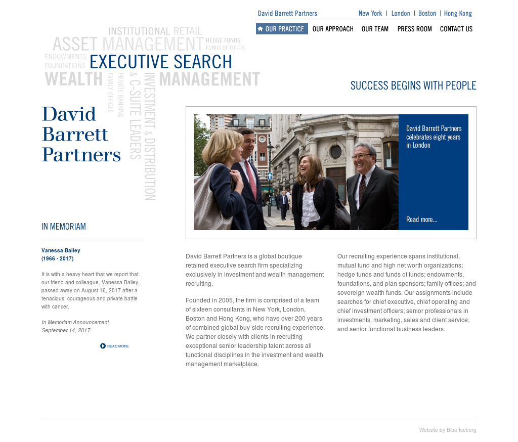 David Barrett Partners Competitors, Revenue and Employees