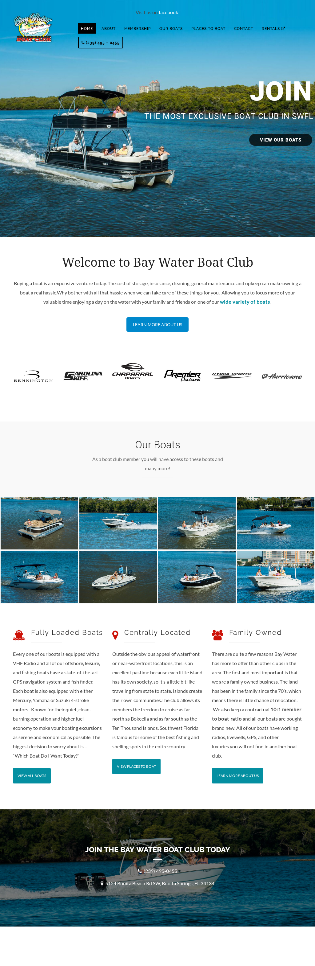Bay Water Exclusive Boat Club & Rentals Competitors, Revenue