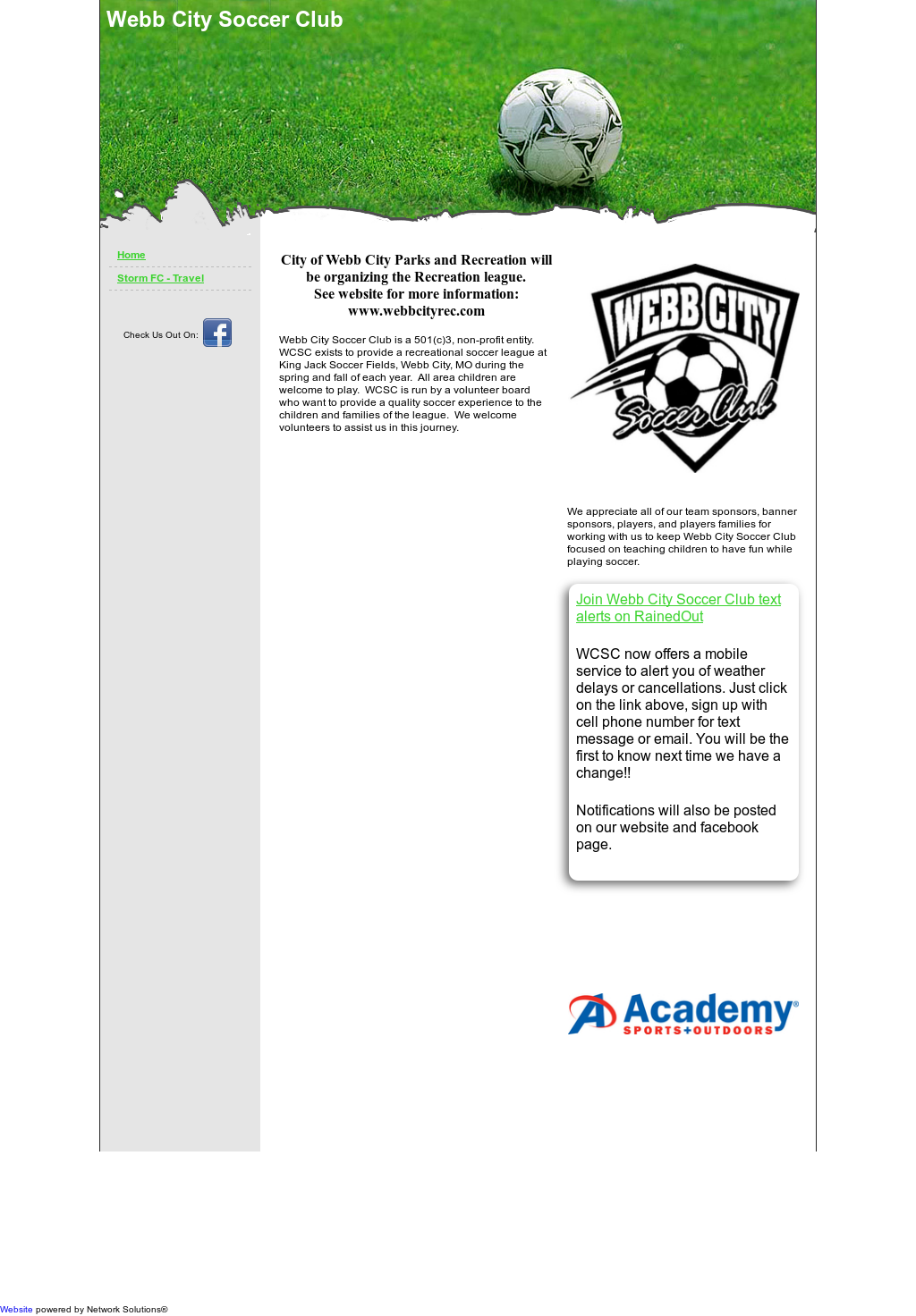 Webb City Soccer Club Competitors, Revenue and Employees