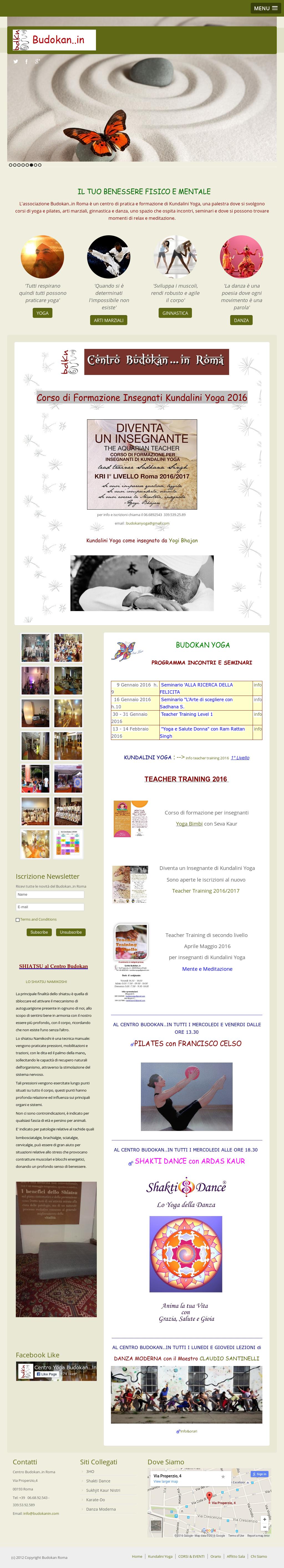 Ram Rattan Singh Roma.Centro Yoga Budokan In Roma Competitors Revenue And Employees