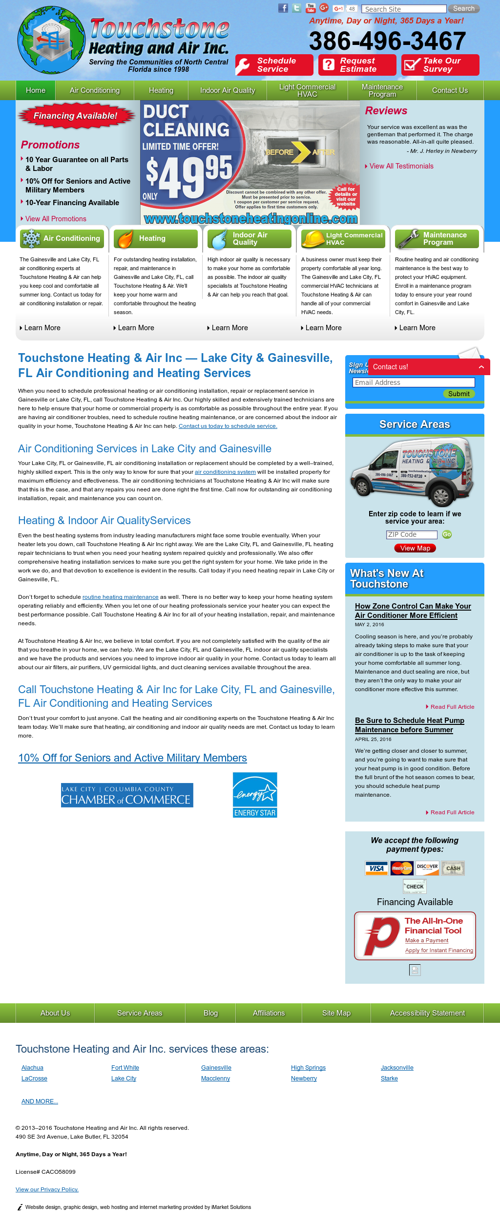 Touchstone Heating And Air Compeors Revenue Employees Owler Company Profile
