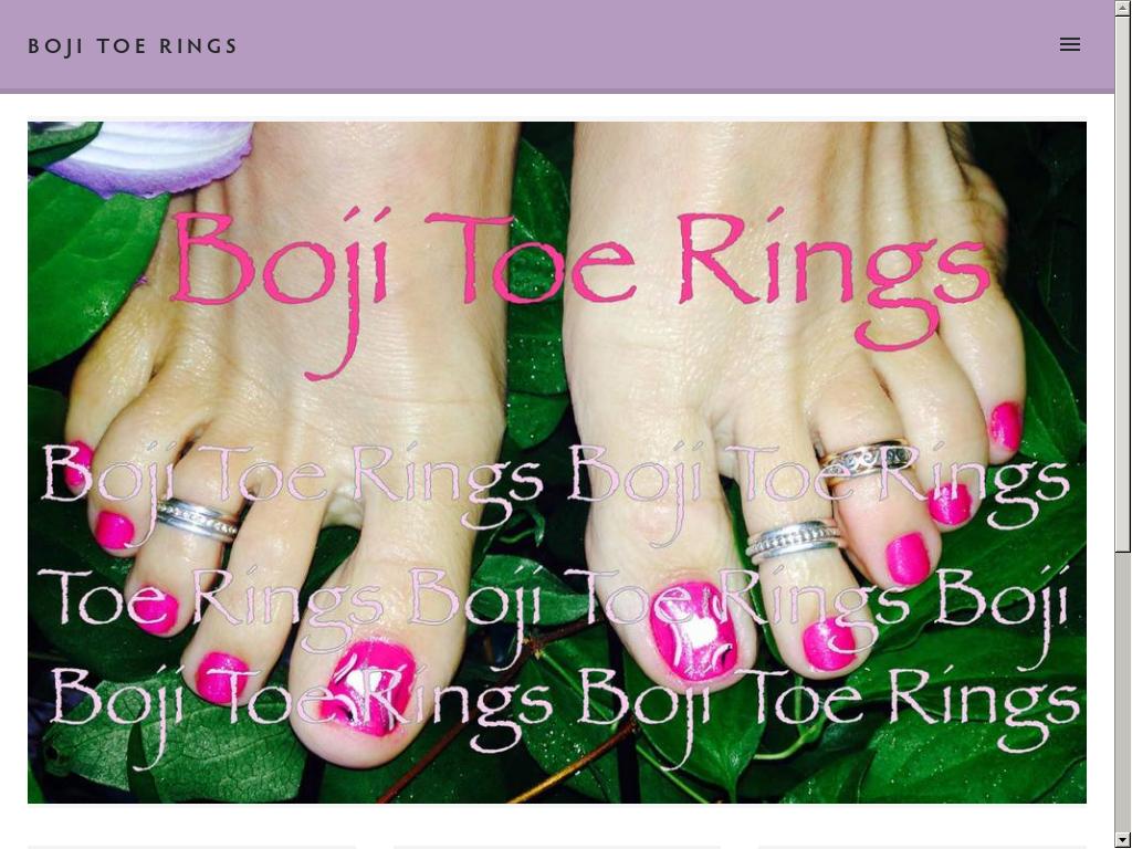 Boji Toe Rings