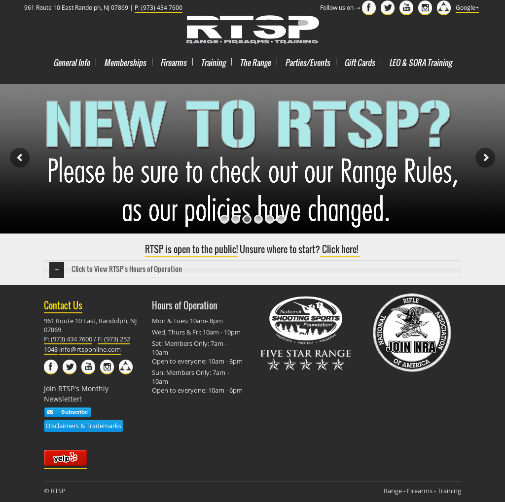 Rtsp - Range, Firearms & Training Competitors, Revenue and