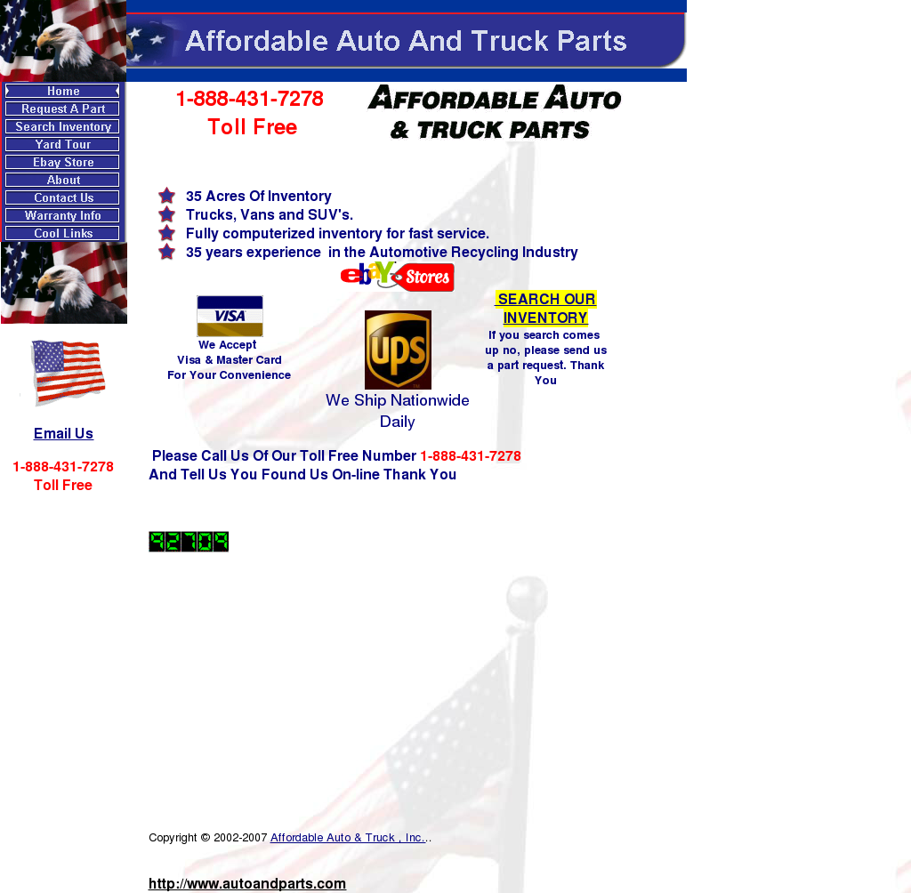 Affordable Auto & Truck Competitors, Revenue and Employees