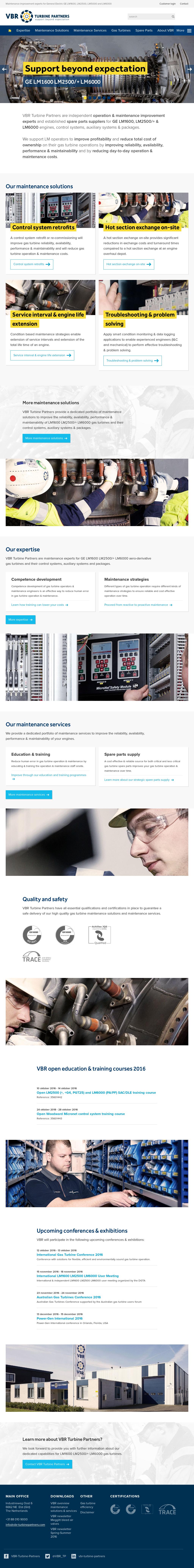 Vbr Turbine Partners Competitors, Revenue and Employees
