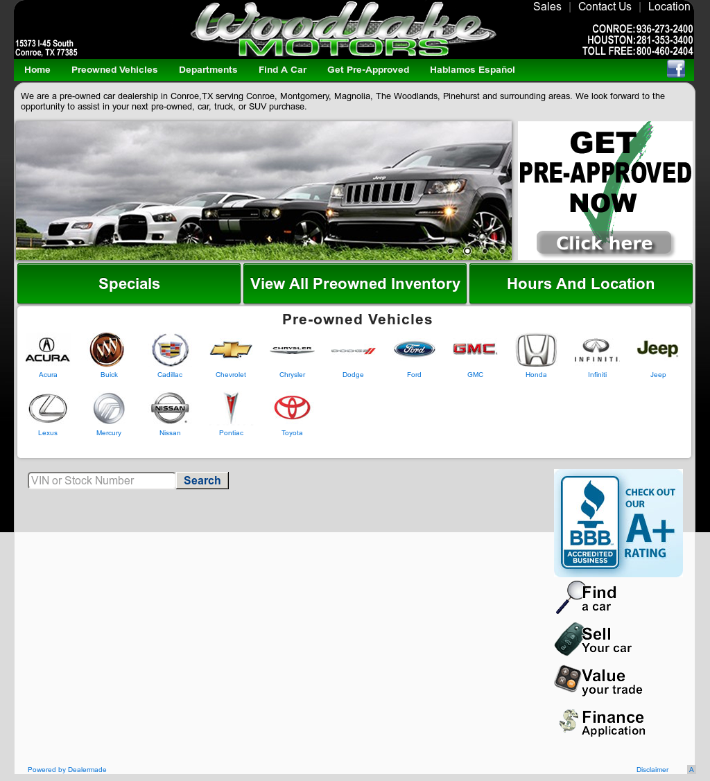 Ford Dealership Conroe: Woodlake Motors In Conroe Tx