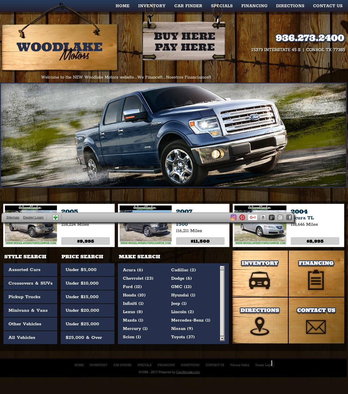 Ford Dealership Conroe: Woodlake Motors Conroe