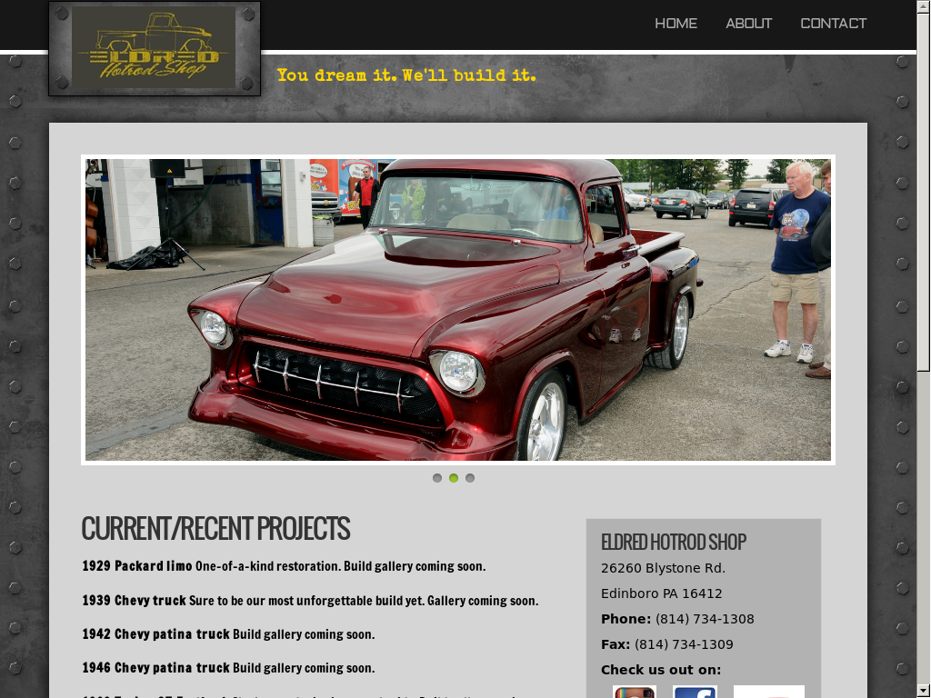 Eldred Hotrod Shop Competitors Revenue And Employees Owler 1942 Chevy Truck Patina Company Profile