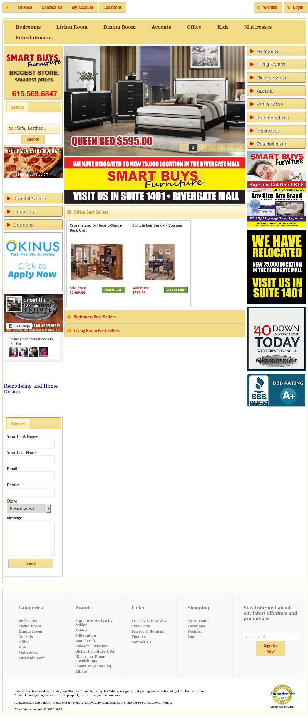 Smart Buys Furniture Website History