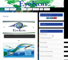 Sep 2017. Eyekon Medical Website History