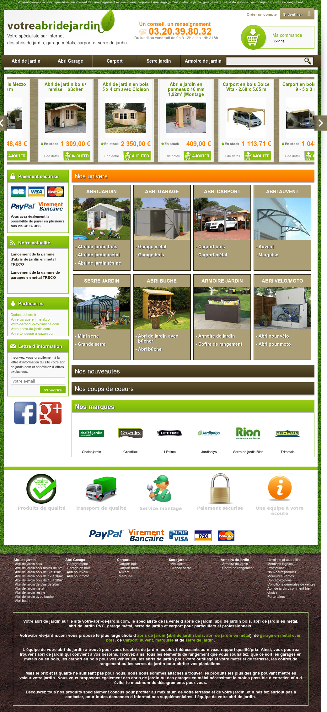 Votre Abri De Jardin Competitors Revenue And Employees Owler