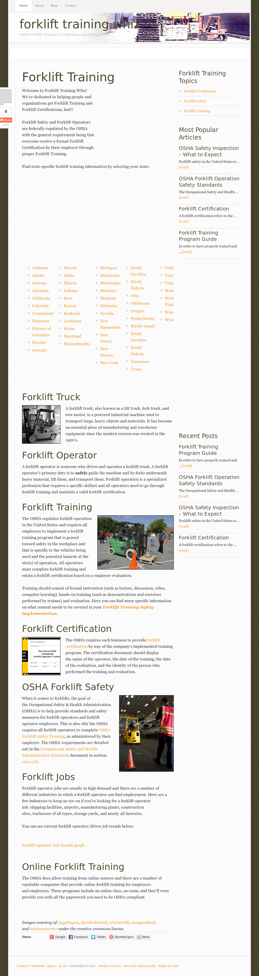 Forklifttrainingwhiz Competitors Revenue And Employees Owler