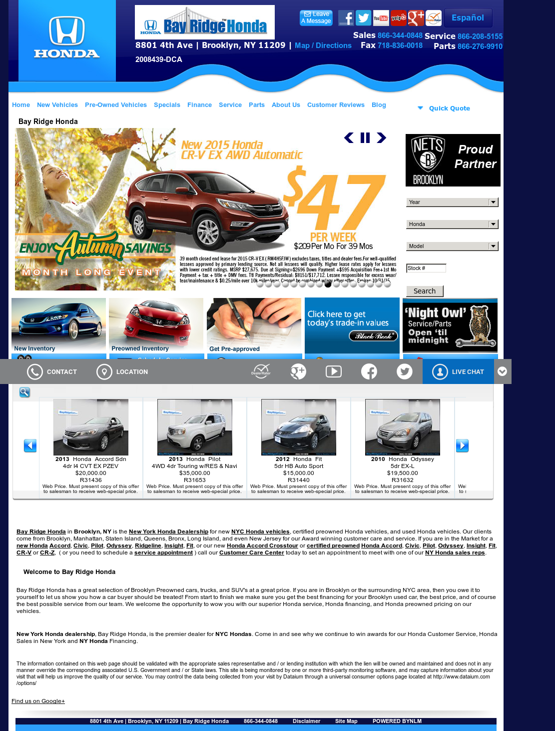 Bay Ridge Honda Competitors, Revenue And Employees   Owler Company Profile