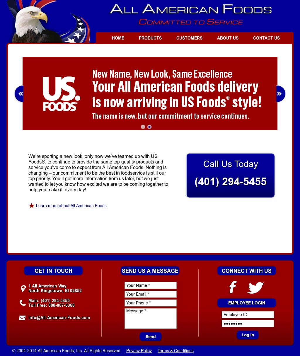 Us Foods Login