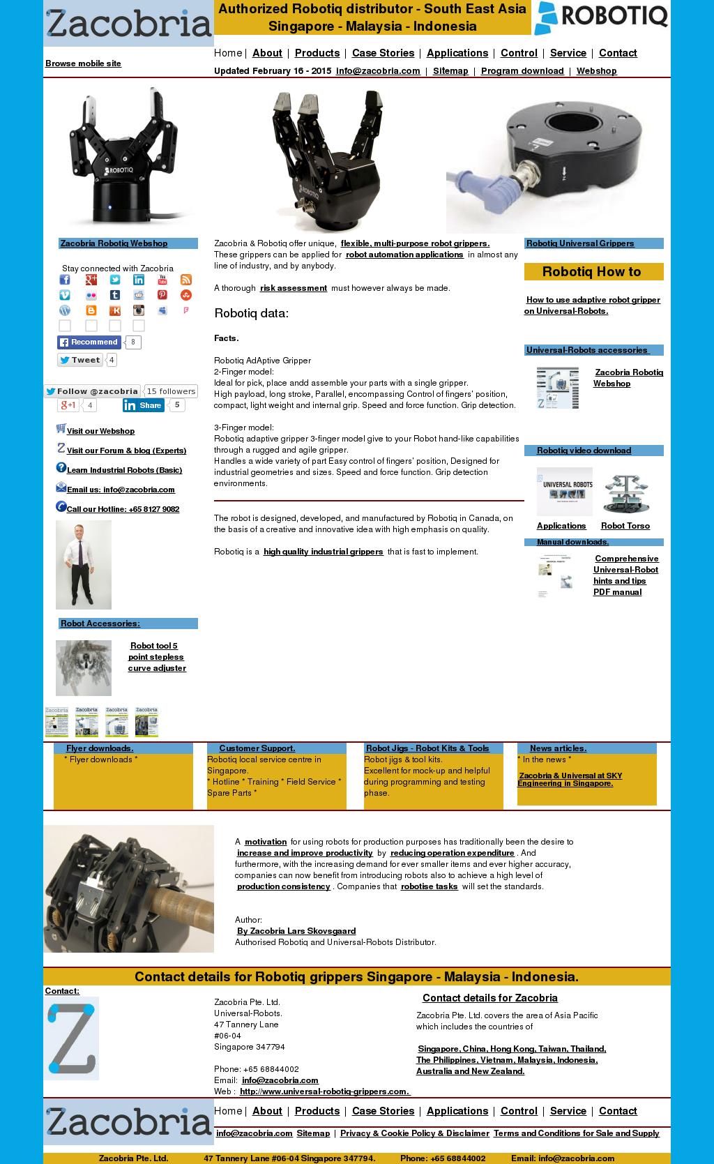 Zacobria-universal-robots Robotiq Competitors, Revenue and Employees