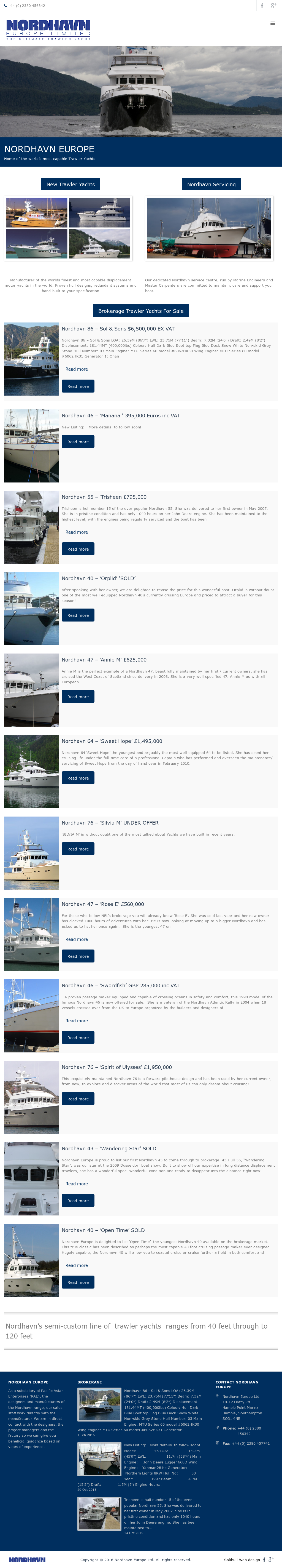 Nordhavn Europe Competitors, Revenue and Employees - Owler