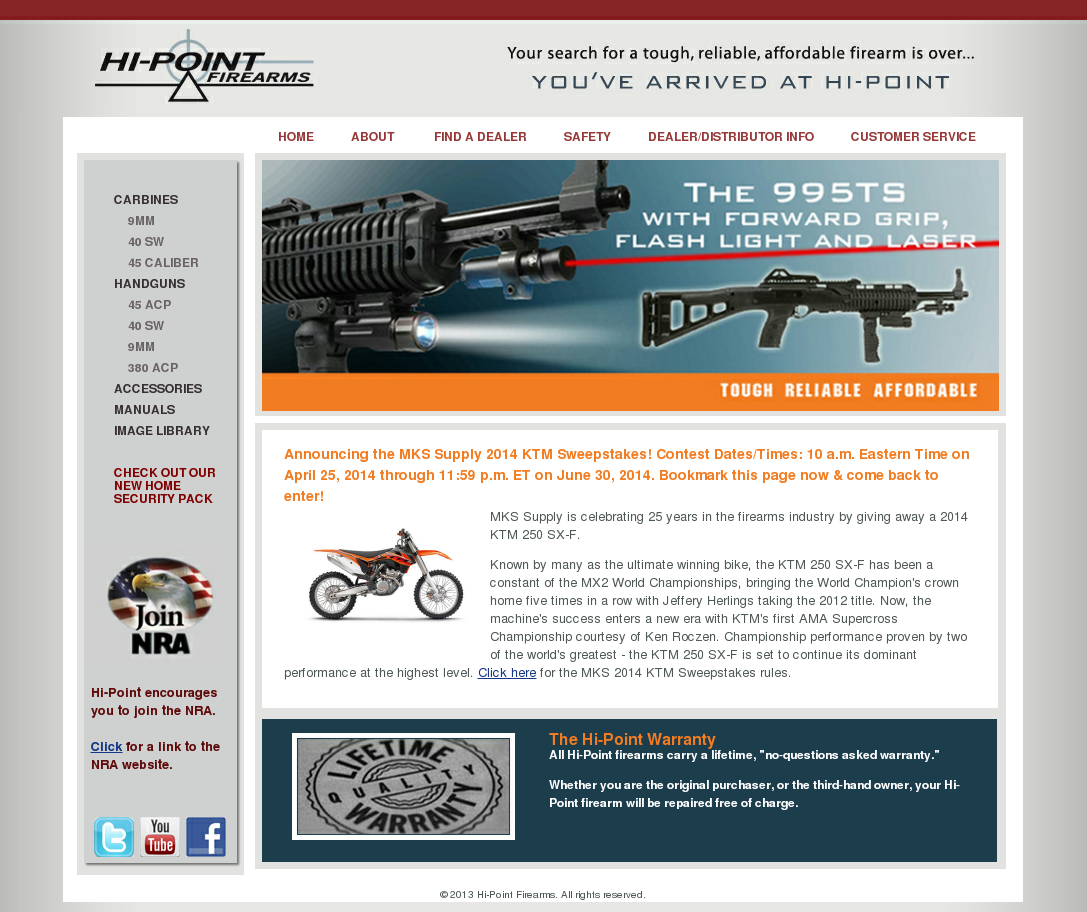 Hi-Point Firearms Competitors, Revenue and Employees - Owler Company