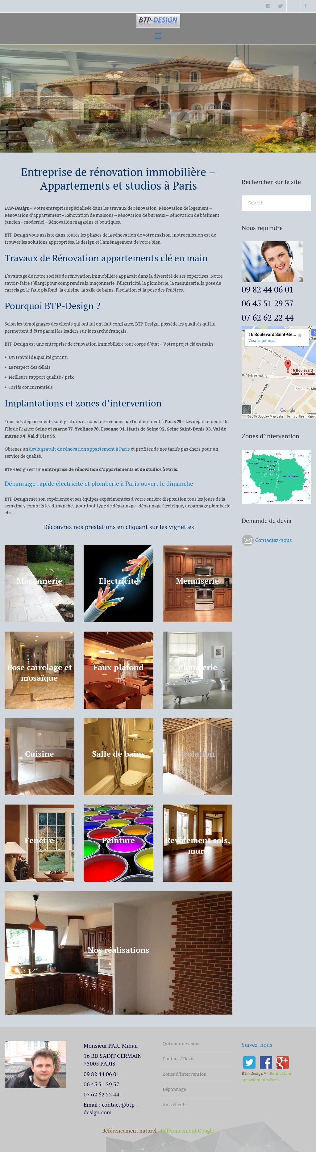 Maison Des Travaux Avis btp-design competitors, revenue and employees - owler